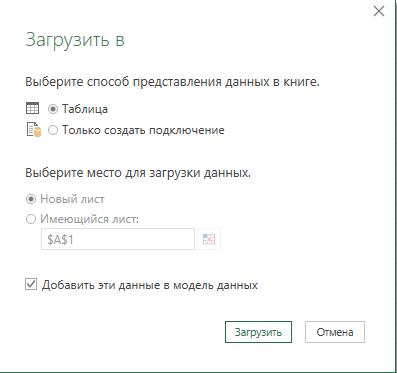 Как получить данные из закрытого файла Excel