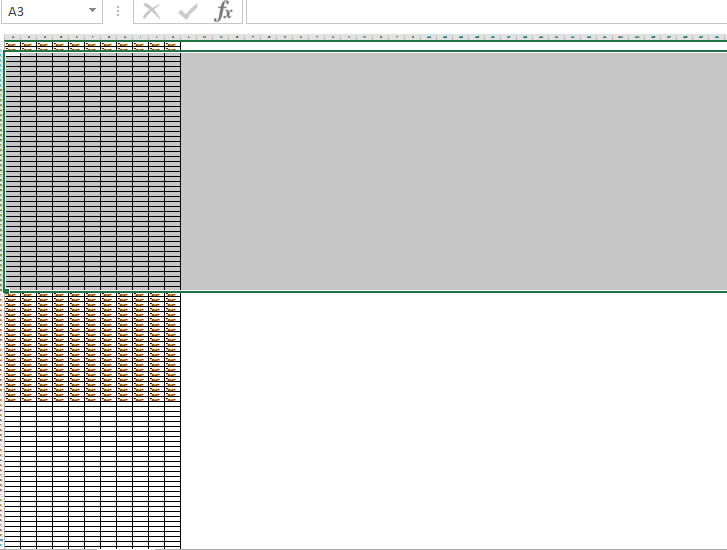 Как в Excel вставить нужное количество строк