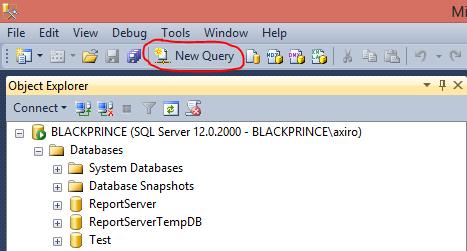 Импорт данных SQL в Excel